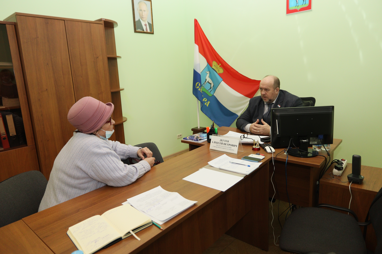 Алексей Дегтев провел прием граждан